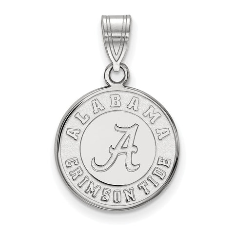 14kw LogoArt University of Alabama Medium Disc Pendant