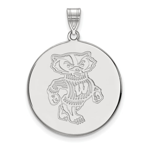 10kw LogoArt University of Wisconsin XL Disc Pendant