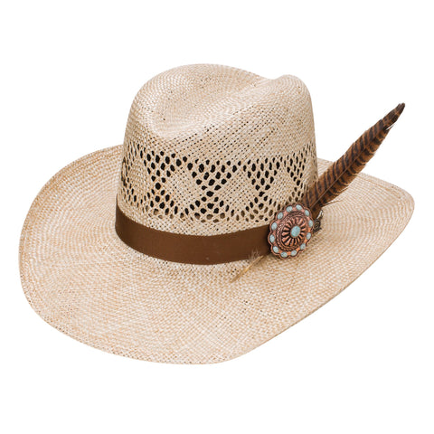 Charlie 1 Horse Stud Finder Straw Hat
