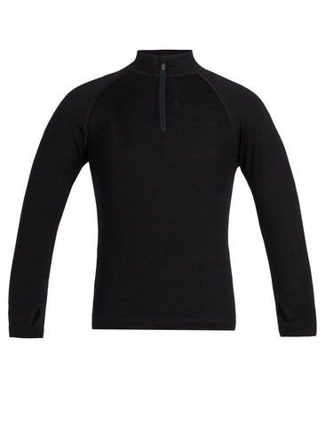 Icebreaker Kids' Merino 260 Tech Long Sleeve Half Zip Thermal Top - All Out Kids Gear