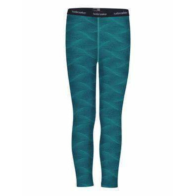 Icebreaker Kids 200 Oasis Merino Baselayer Leggings Curve