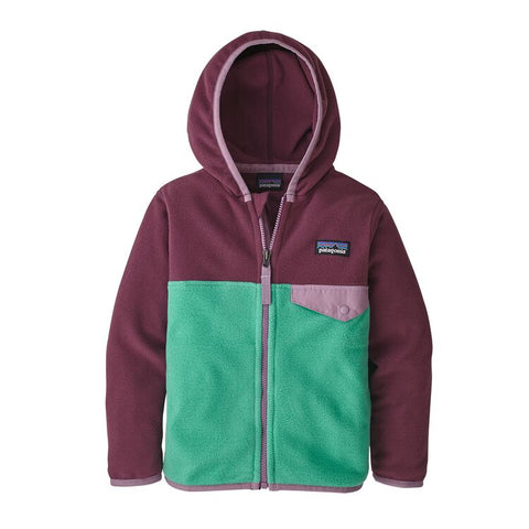 Patagonia Girls Baby Micro D Snap-T Fleece Jacket-Clearance