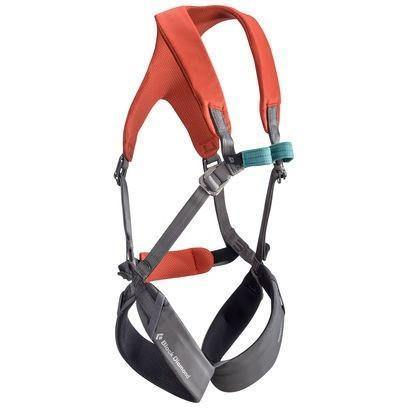 Black Diamond Momentum Kids  Full Body Climbing Harness   all out kids.myshopify.com