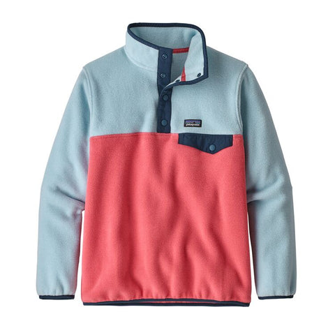 Patagonia Girls Synchillla Snap-T Fleece Pullover-Clearance