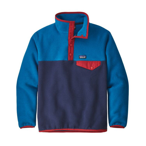 Patagonia Boys Synchilla Snap-T Pullover-Clearance