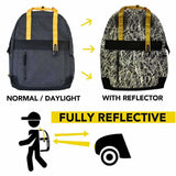 Zapped Reflective Backpack