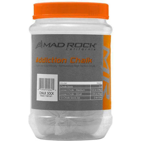 Mad Rock Addiction Chalk Sock - All Out Kids Gear