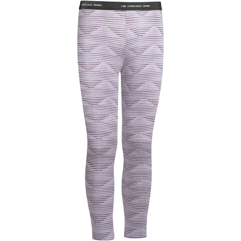 NEW Icebreaker Kids Oasis Leggings Diamond Line