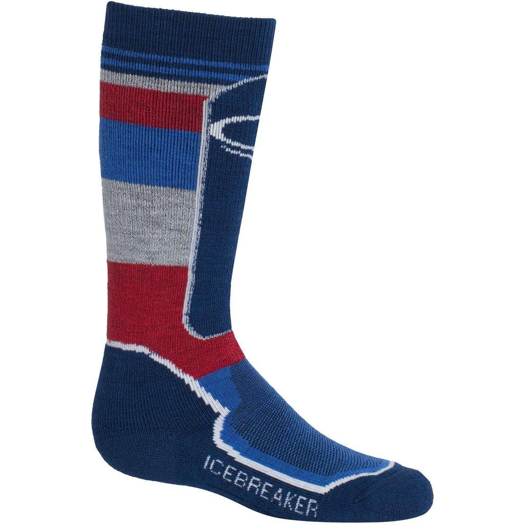 c42e1438605 NEW Icebreaker Kids Snow Medium Over The Calf Socks