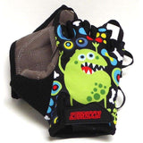 ZippyRooz Monsters Half Finger Kids Biking Gloves