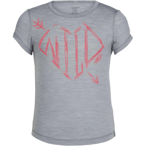 Icebreaker Kids  Spheria Wild Arrow Heart Short Sleeve T shirt   all out kids.myshopify.com