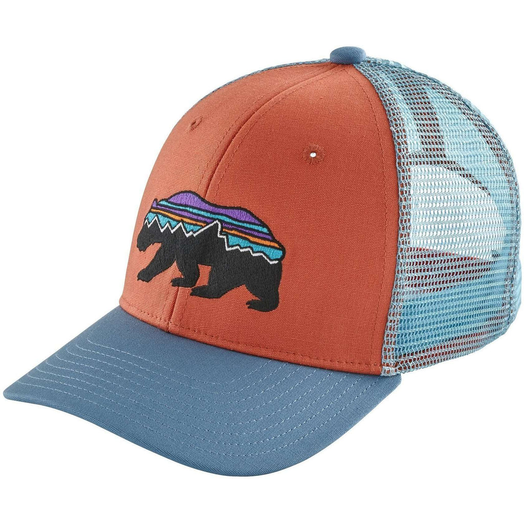 Patagonia Kids Fitz Roy Bear Trucker Hat - All Out Kids Gear e6b54733227
