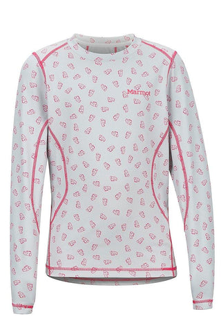 Marmot Boys And Girls Midweight Harrier And Meghan Crew Neck Baselayer - All Out Kids Gear