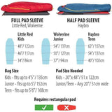 Big Agnes Little Red Kids Sleeping Bag - All Out Kids Gear