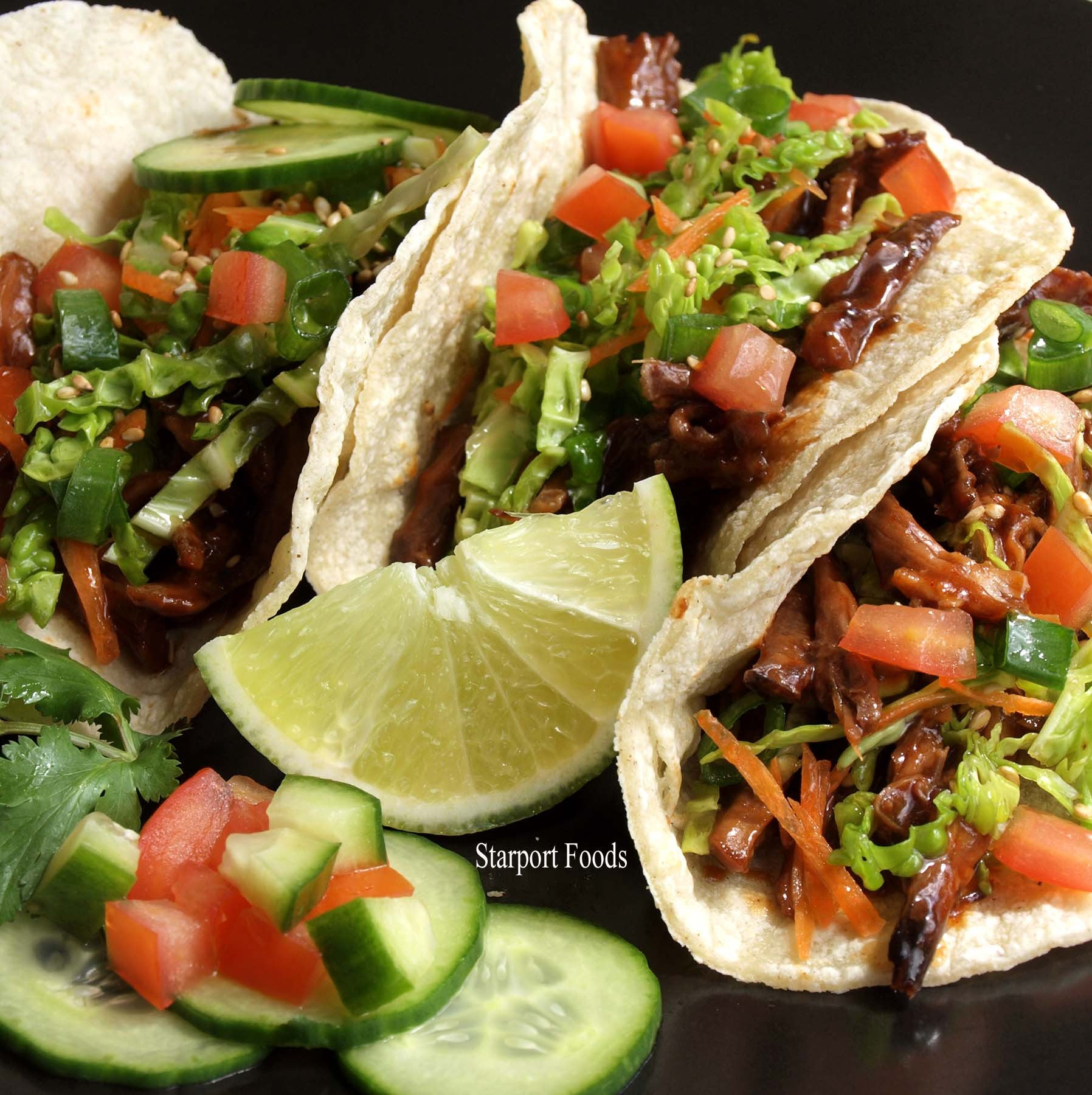 Korean Taco Recipe - Holy cow these are delicious fusion tacos!