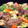 black pepper and beef stir fry recipe image