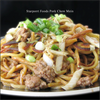 Pork Chow Mein with Brown stir fry sauce recipe image