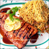 Grilled Salmon with XOX Teriyaki Sauce Recipe Image