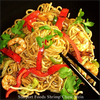 Szechuan Shrimp Chow Mein with Spicy Szechuan Sauce Recipe Image