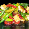 Vegetarian Tofu and Asparagus image