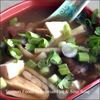 Northern Chinese vegetarian hot and sour soup image