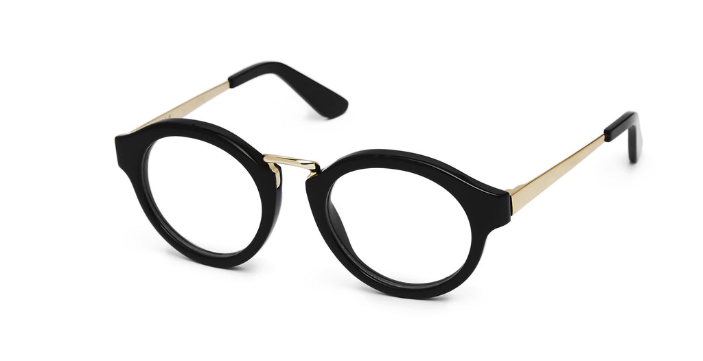 Miki - Black and Gold Specs