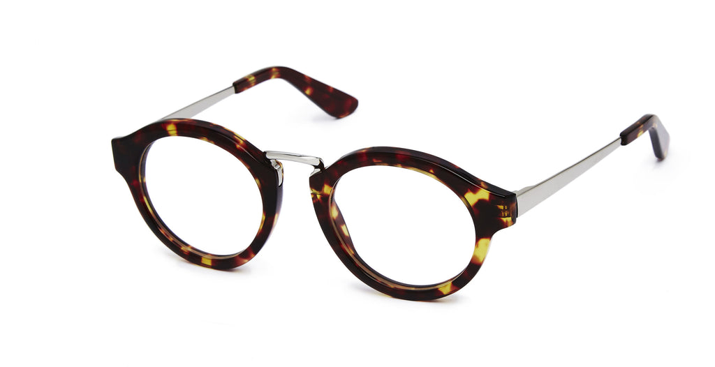 Miki - Tortoise and Silver specs