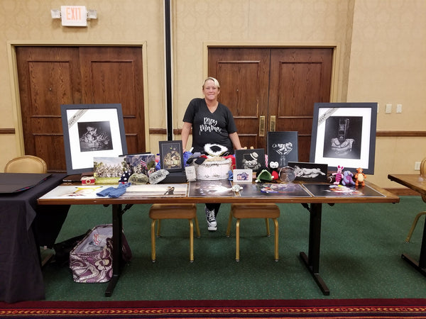 Tara Ruby Photography. Photographer shirts. Photographer booth. local mom show.