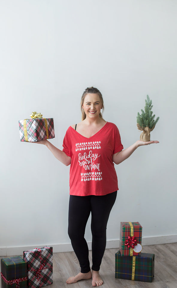 Holiday tshirt, cozy tee, holiday spirit on point, christmas clothes