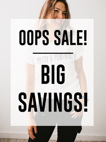 """Oops"" TSHIRTS {SIZES XL-2XL}"