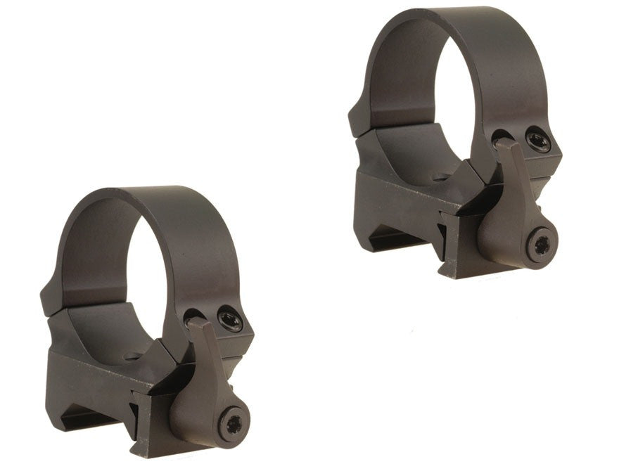 Leupold QRW2 Quick-Release Weaver-Style Rings 30mm Medium Matte