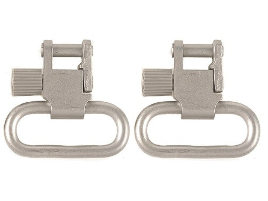 "Uncle Mike's Quick Detachable Super Sling Swivel With Tri-Lock 1-1/4"" Loops Set (1093-3)"