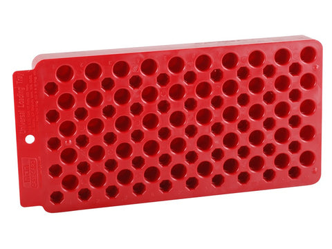 MTM Universal Loading Block / Reloading Tray 50-Round Plastic Red