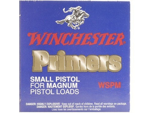 Winchester Small Magnum Pistol Primers #1-1/2M (100pk)