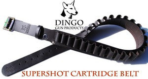 "Dingo Leather SuperShot Belt 12G 36""-46"" (131SSPB)"