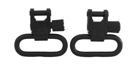 "Uncle Mike's Quick Detachable Super Sling Swivel With Tri-Lock 1"" Loops Set (1403-2)"