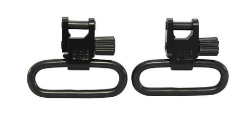 "Uncle Mike's Quick Detachable Super Sling Swivel With Tri-Lock 1-1/4"" Loops Set (1403-3)"