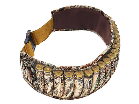 Allen Shotshell Ammunition Carrier Neoprene Belt (25 Loop) Realtree MAX-4 Camo - RN