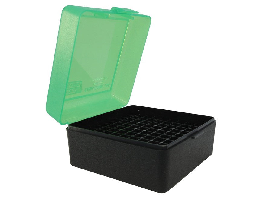 MTM Flip-Top Ammo Box 17 Remington, 204 Ruger, 223 Remington 100-Round