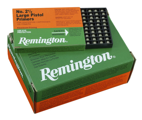 Remington Small Pistol Primers #1-1/2 (100pk)