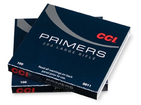 CCI Large Rifle Primers #200 (100pk)
