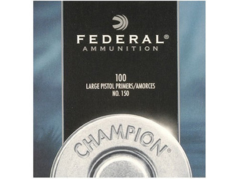 Federal Large Pistol Primers #150 (100pk)