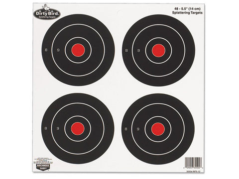 "Birchwood Casey Dirty Bird 6"" Bullseye Targets (12pk)"