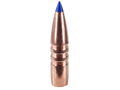 Barnes Tipped Triple-Shock X Bullets 25 Caliber (257 Diameter) 100 Grain Spitzer Boat Tail Lead-Free (50pk)