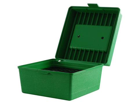 MTM Deluxe Flip-Top Ammo Box with Handle 22-250 Remington to 375 H&H Magnum 100-Round