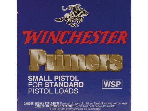 Winchester Small Pistol Primers #1-1/2 (100pk)