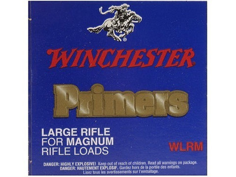 Winchester Large Magnum Rifle Primers #8-1/2M (100pk)