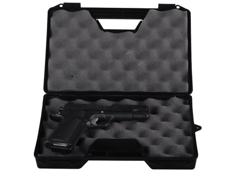 "MTM Pistol Case 12.2""x8.4""x2.3"" Black"