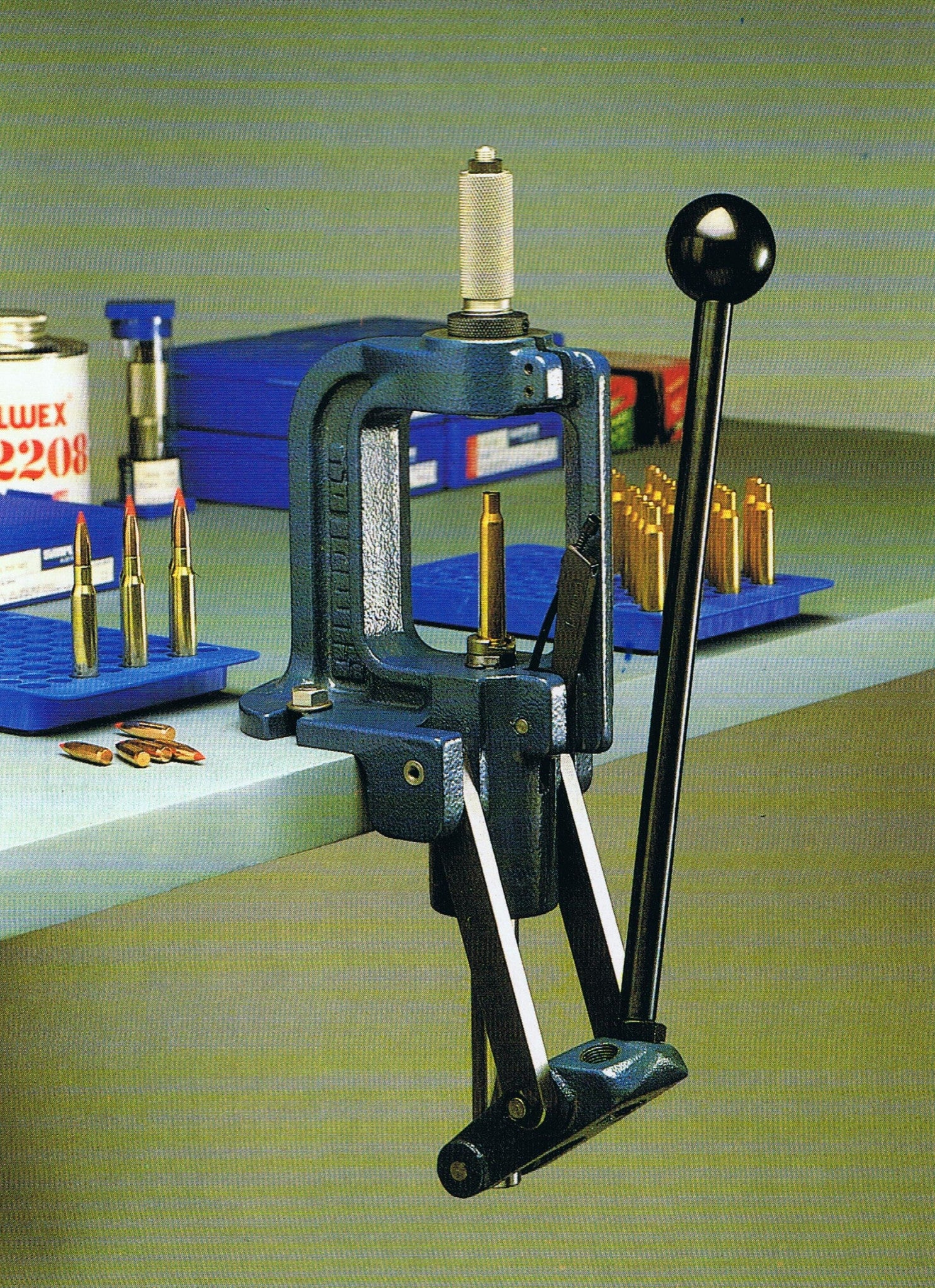"Simplex Master ""O"" Frame Heavy Duty Reloading Press"