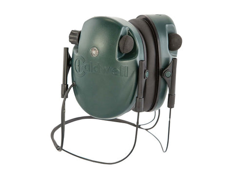 Caldwell E-MAX Low Profile Behind the Head Electronic Earmuffs Green